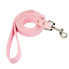 High Quality PU Leather Pet Leash for Daily Walking