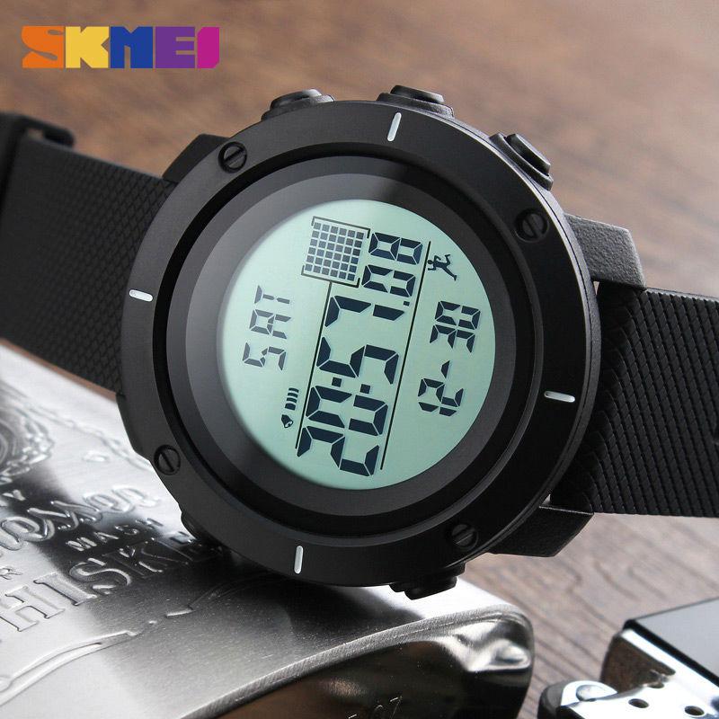 SKMEI Mode Heren Sport Horloges Digitale Man Klok Horloges Outdoor - Herenhorloges - Foto 5