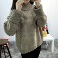 DisappeaRanceLove Марка Зима свитер верхняя одежда женский утолщение свободные свитера пуловеры водолазку с длинными рукавами свитер