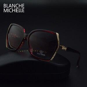 Image 5 - 2019 High Quality Polarized Sunglasses Women Brand Designer UV400 Sun Glasses Gradient Driving lentes de sol mujer Original Box