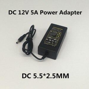 Image 4 - AC 100V 240V DC 12 V 1A 2A 3A 5A 6A 8A 10A אספקת חשמל מתאם 12 V וולט תאורת שנאי ממיר עבור LED רצועת אור טלוויזיה במעגל סגור