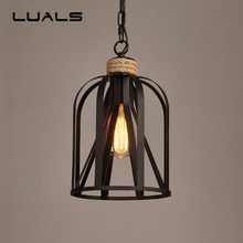 Loft Style Retro Light Creative Metal Hanging Lamp Industrial Style Pendant Lights For Bar Restaurant Indoor Art Deco Lighting 520 pitch 122 link heavy duty o ring motorcycle chain for honda cr125 cr250 cr500 crf230 crf250 crf450 xr250 xr400 xr600 xr650