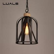 где купить Loft Style Retro Light Creative Metal Hanging Lamp Industrial Style Pendant Lights For Bar Restaurant Indoor Art Deco Lighting дешево