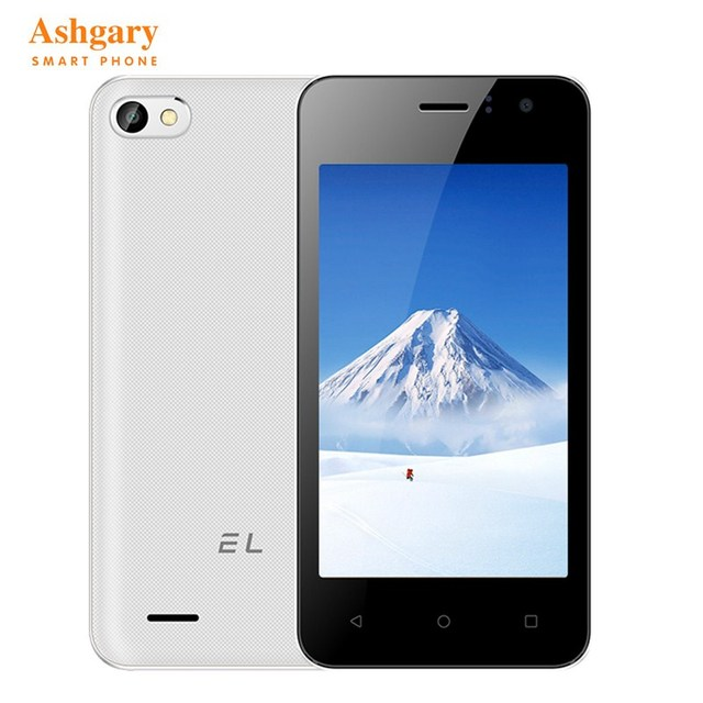 Original EL W40 Android 6.0 4.0'' 3G WCDMA Mobile Phone 4GB ROM Dual SIM Unlocked Quad Core Touch Pocket Smartphone For Student