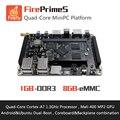 FirePrimeS-Quad-Core Процессоров Cortex-A7 Развитию RK3128, поддержка Ubuntu15.04 и Android5.1