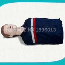 Half-Body CPR Training Manikin Simulator, Adult First aid Model