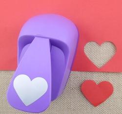 50 мм furador форма сердца Супер большая форма r Удар Ремесло Скрапбукинг бумага дырокол большой Ремесло Удар DIY детские игрушки S2883