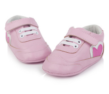 T.S. First Walkers 0-1 Age Soft  Leather baby shoes Lace up Newborn shoes Girls  Infant Toddler baby girl shoes First Walkers
