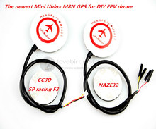 NEW arrived!lovebirds mini UBLOX NEO-M8N GPS for CC3D / SP racing F3 / NAZE32 DIY FPV mini drone