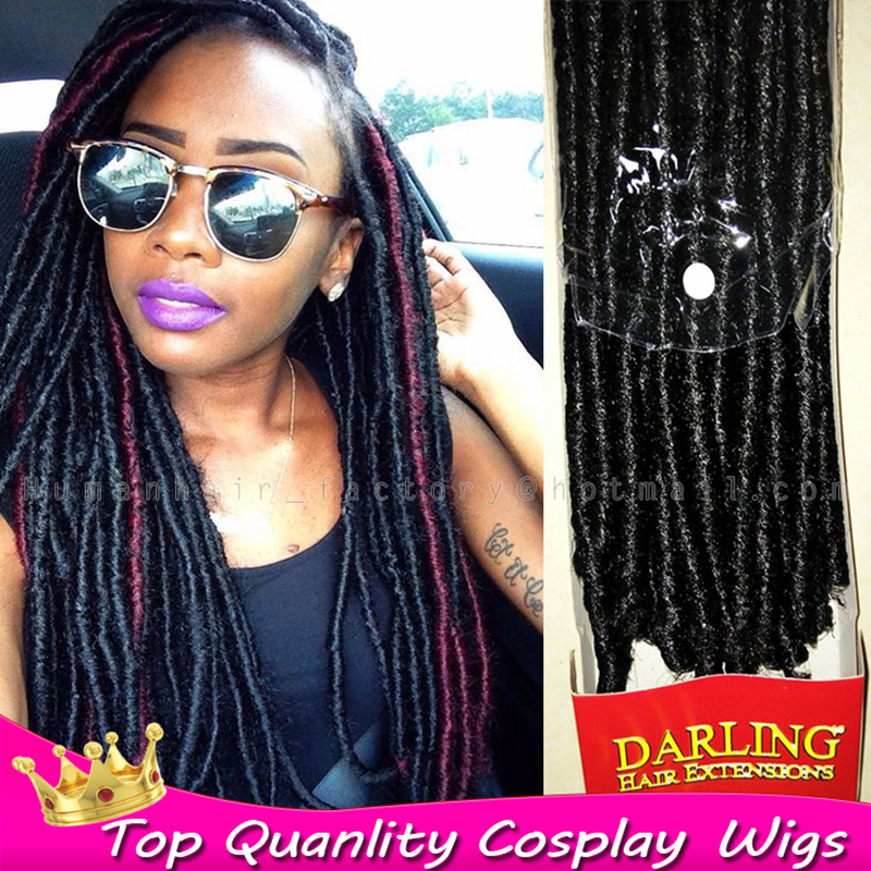 100gram Darling Soft Ded Hair For Braids Synthetic Braiding Crochet