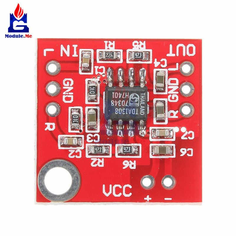 TDA1308 słuchawki wzmacniacz Stereo pokładzie zestaw słuchawkowy wzmacniacz moduł tablicy 3-6 V klasyczny AB A B słuchawek Stereo sterownik