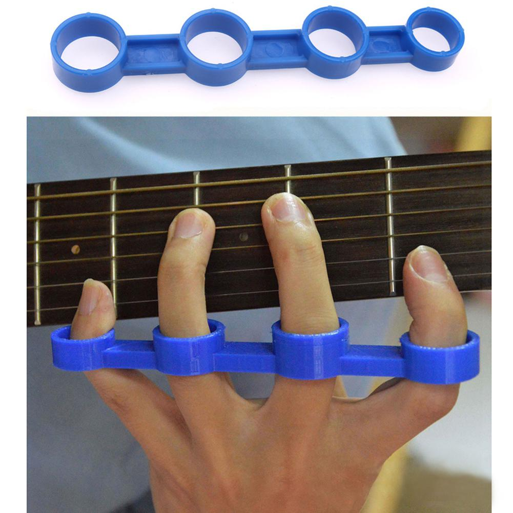 Hand Finger Span Exerciser Trainer Stärker für Gitarrenzubehör  Schwarz