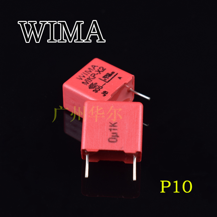 2019 hot sale 10pcs/20pcs Original licensed Germany WIMA 0.1uf 305V 104 305VAC MKP X2 safety p10mm capacitor free shipping