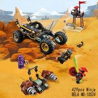 Bela 10524 vs 06032 Ninjagoes Chariot uyumlu Küçük parçacıklar tuğla Oyuncaklar DIY Modeli Yapı Taşları oyuncak çocuklar İçin hediyeler