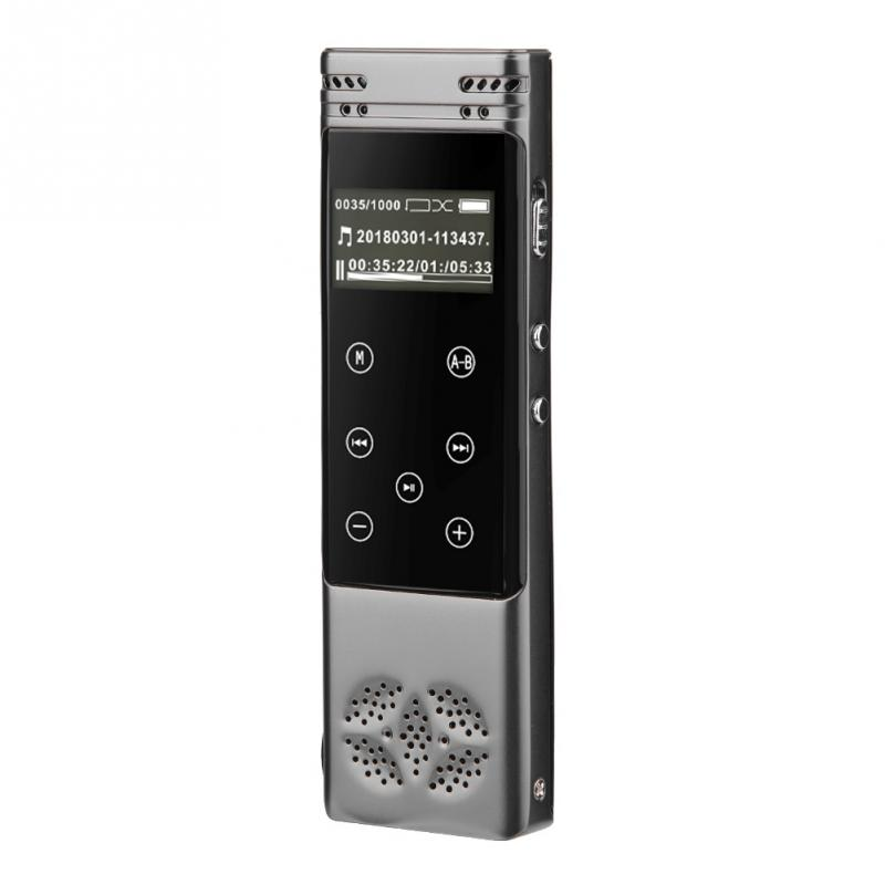 Digital Voice Recorder Tragbares Audio & Video Digitale Aufzeichnung Stift 192 Kbps Tragbare Digitale Voice Recorder Gerät Mit Lcd Display Mp3 Spielen Kopfhörer Unterstützung 32 Gb Tf Karte