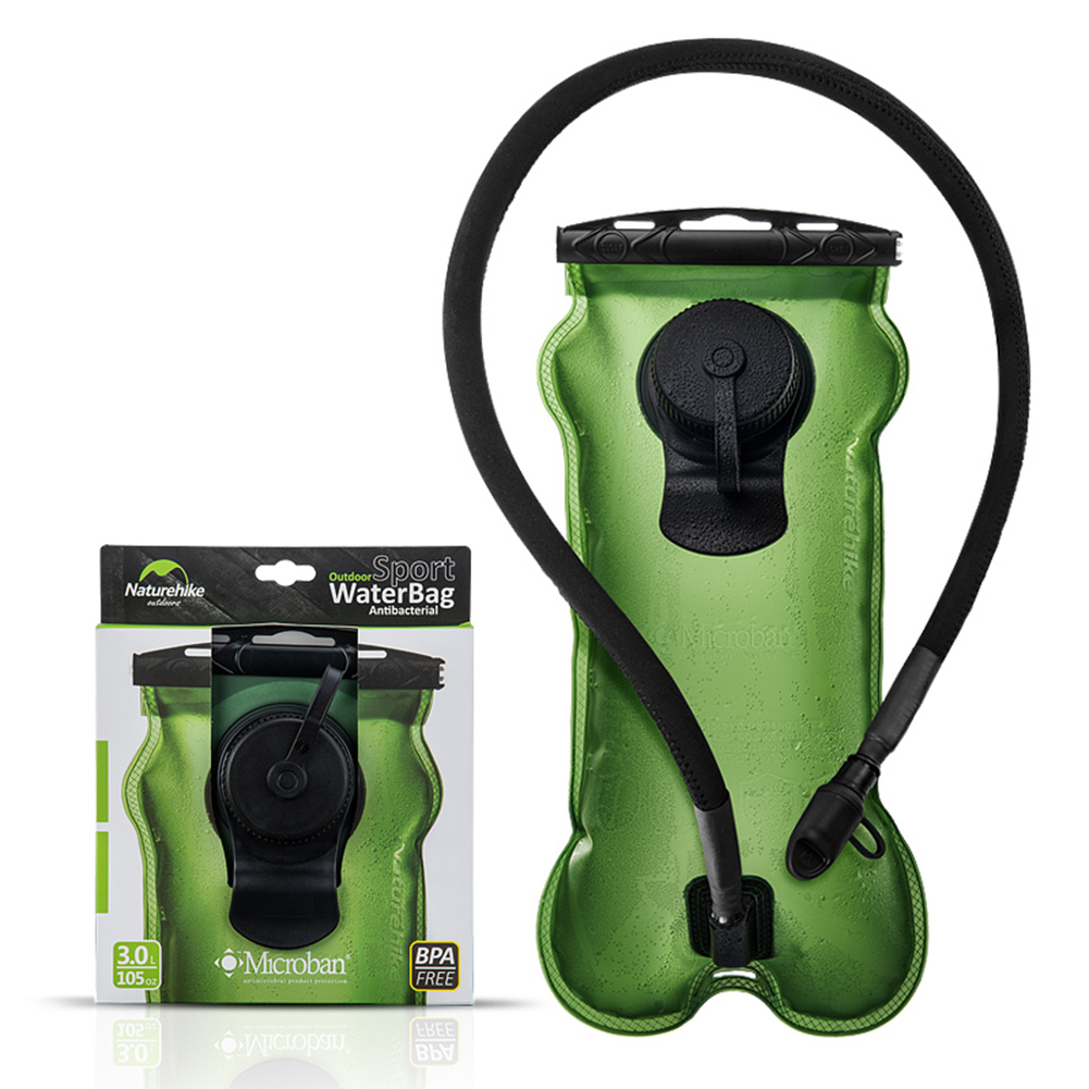 3L plegable Camping senderismo bolsa de agua hidratación bicicleta bolsa de agua plegable botella de agua suave matraz turismo Camelback portador de agua