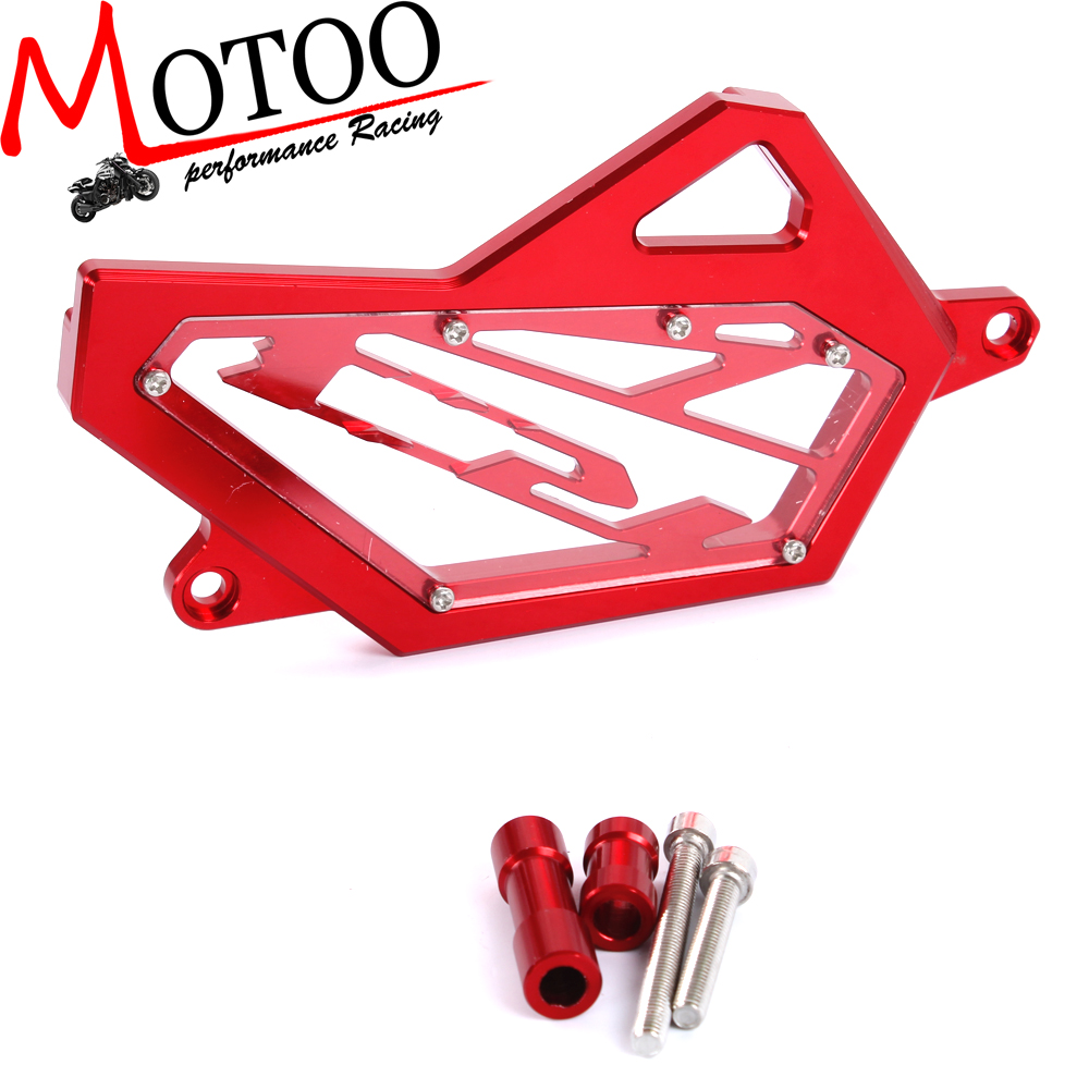 Motoo - CNC Front Sprocket Cover Chain Guard Protector For  YAMAHA YZF R25 R3 2014-2016 купить