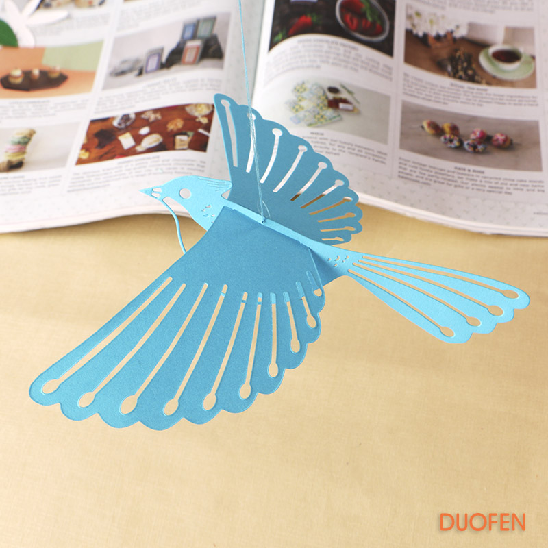 S18050101 3D flying bird set stencil metal Cutting dies for DIY papercraft project Scrapbook Paper Album greeting card
