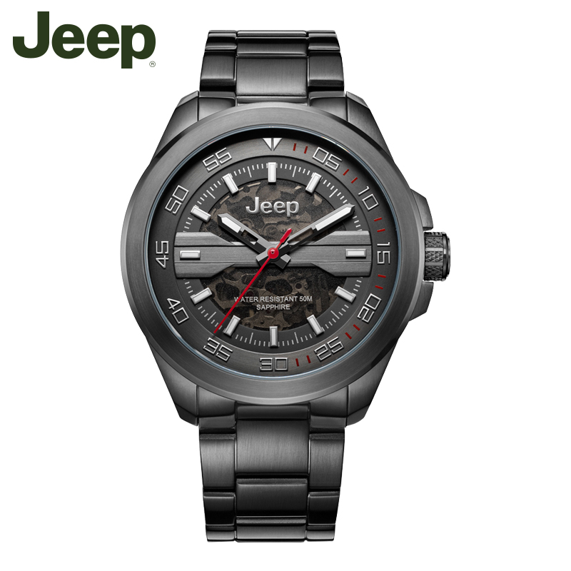 Jeep Men s Watches Authentic Steel Waterproof Men s Watches Stainless Steel