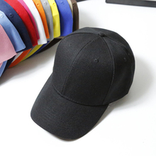 Fshion 13 colors womens cap men solid unisex women mens baseball female black Duckbill Hat