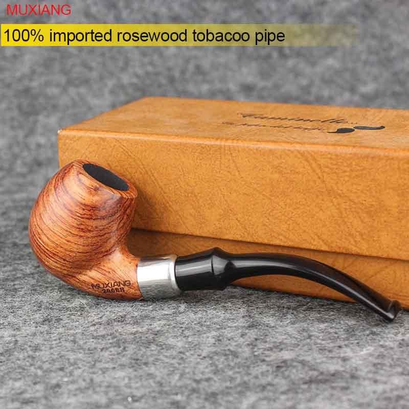 MUXIANG ξύλο κασσινγκό ξύλοTobacco σωλήνα - Οικιακά είδη - Φωτογραφία 4