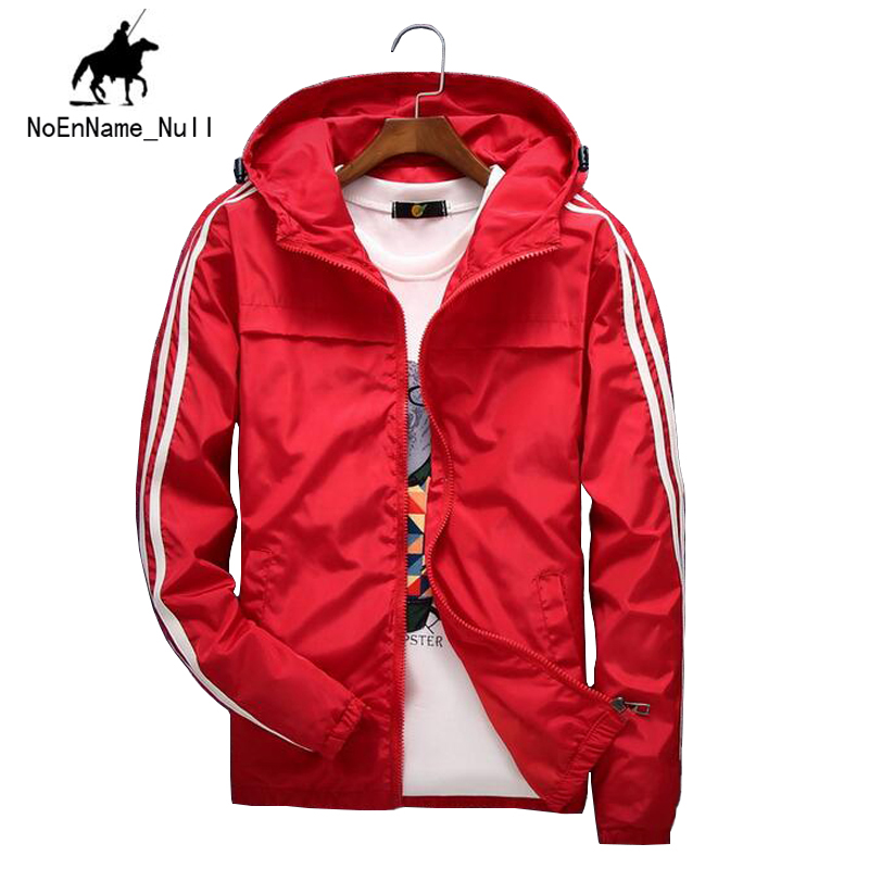 2017 New Listing Spring and Autumn Men's Hooded Jacket Solid Color Simple Wild Youth Sports Jacket Tide 90