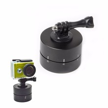 1 Pc 360 Graus 120 Min Rotating Time Lapse Estabilizador Tripé Adaptador Para GoPro