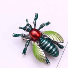 enamel brooch jewelry lapel pin men pins metal insect brooches for women badge broches accessories