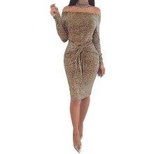LASPERAL Spring Autumn Dress 2018 Clothing Fashion Sexy Party Off Shoulder tunic Long Sleeve Sheath Bodycon Women Midi Dresses