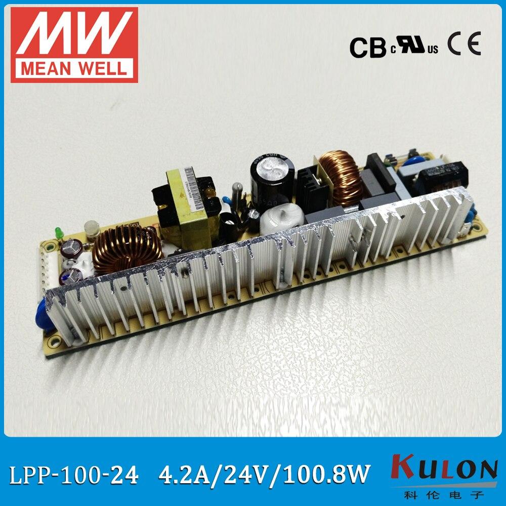 ᐂOriginal mean well LPP-100-24 salida única 4.2A 100 W 24 V ...