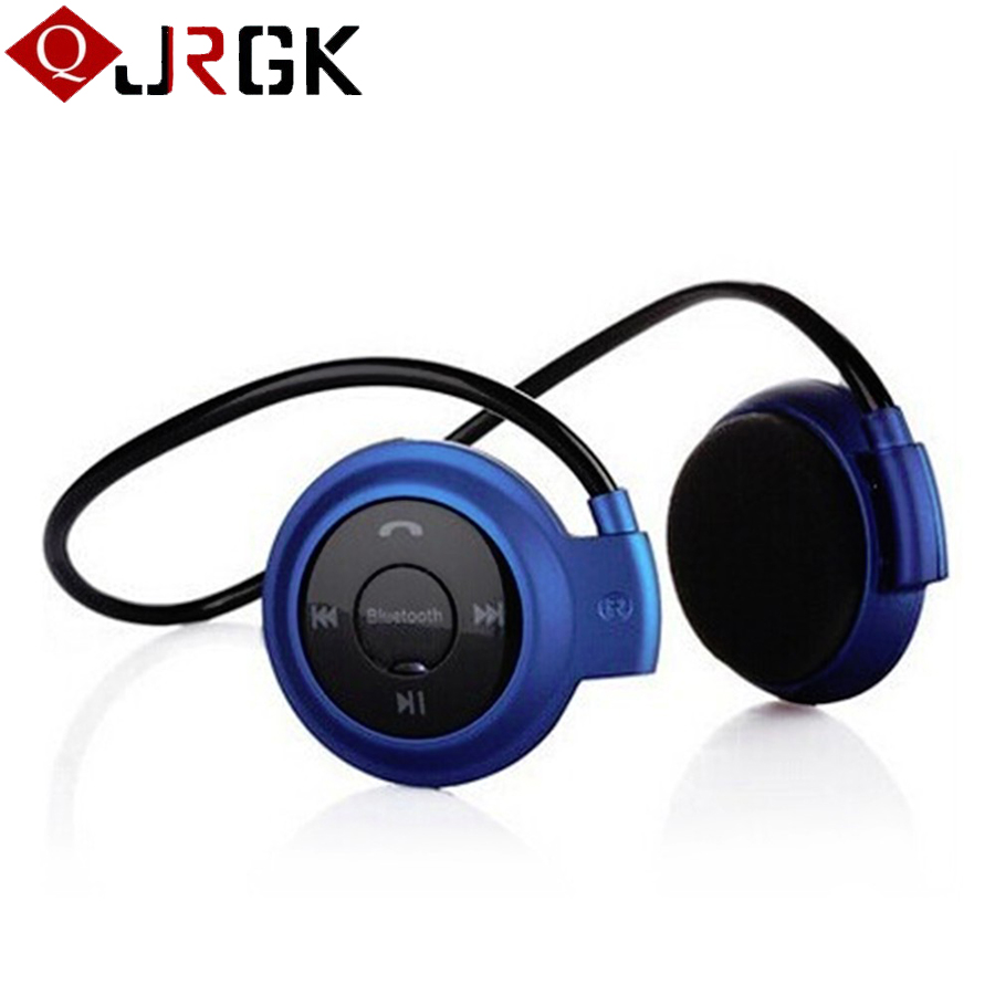 JRGK Wireless Bluetooth Headphones Mini 503 FM Radio Headphone Sport Music Stereo Earpics Micro SD Card Slot Headset mini503 economic set original nia q1 8 gb micro sd card a set bluetooth headphone wireless sport headsets foldable bluetooth earphone