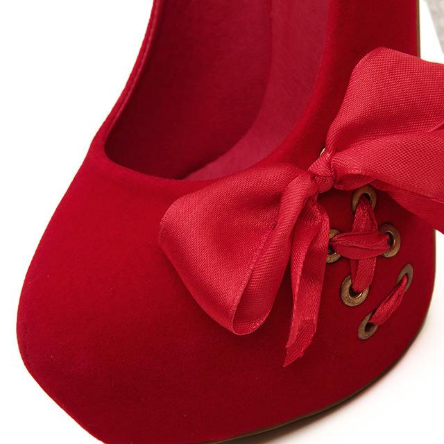 LTARTA Summer Women's Pumps Crystal High Heel women's Shoes Waterproof Platform Suede Stitching Sequins Ribbon hy9188-6-CWF