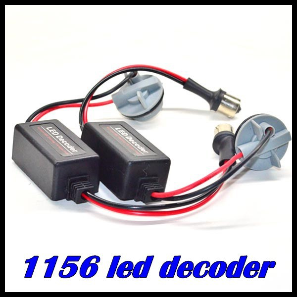 1156 LED Decoder No more OBC warning Fix Hyper Flash, BA15S LED Warning Canceller , NO FREE ERROR decoder 10pcs FREE SHIPPING!