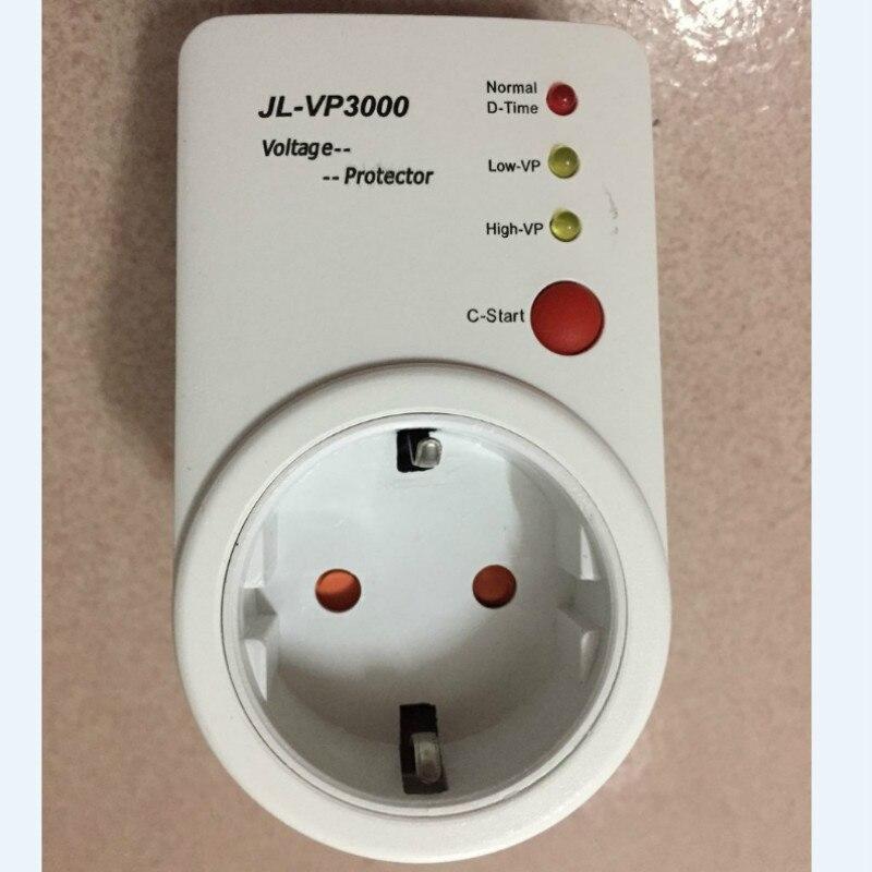 Automatische Spannung Protector Switcher AVS 15A 220 v Power Surge Schutz Deutsch EU Buchse typ Volt-sicher für Hause geräte Neue