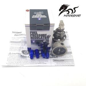 Image 2 - Universal Adjustable Fuel Pressure Regulator tomei type With gauge and instructions