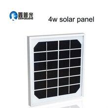 Xinpuguang 4 Вт 6 в солнечная панель 195*185*17 мм монокристаллическое стекло алюминиевая рама Прочный портативный солнечный зарядное устройство батарея для улицы