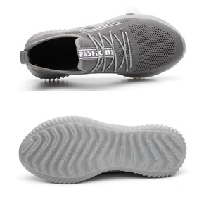 Image 2 - Jackshibo Thoáng Khí An Toàn Giày Công Sở Dành Cho Nam Nam Thép Không Gỉ Mũi Nắp Giày Xây Dựng Giày An Toàn Giày Làm Việc Chống Đập Phá
