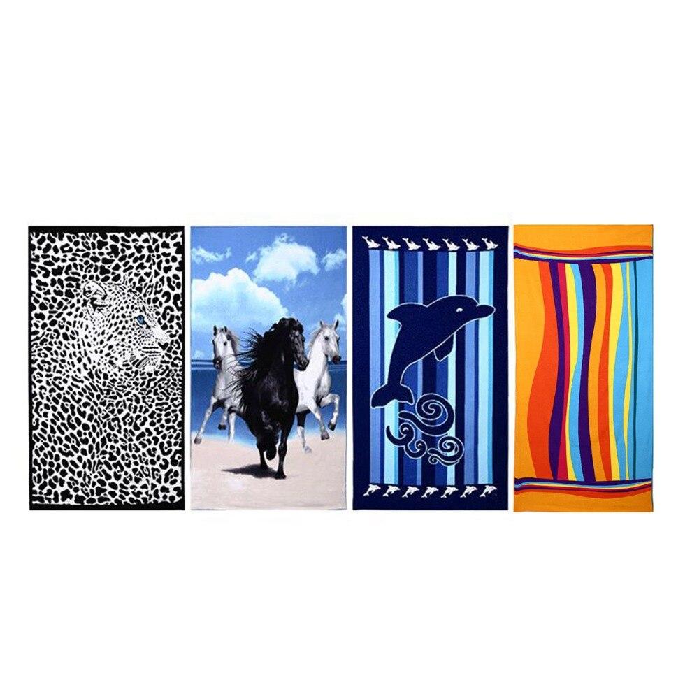 4 üslubda Microfiber Meydanı Çimərlik Dəsmalı Super uducu - Ev tekstil - Fotoqrafiya 2