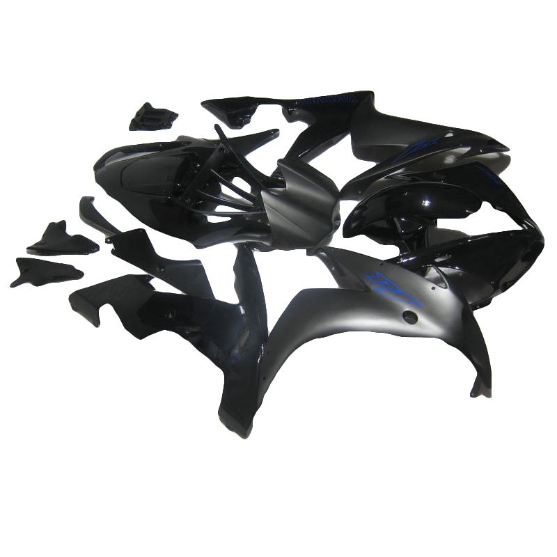 High quality ABS fairing for  2004 2006  matte black YAMAHA R1 YZF R1 fairings kit for 04 06 injection molding LY34 high quality abs fairing kit for yamaha r1 2002 2003 red flames in black fairings set injection molding yzf r1 02 03 yz32