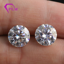 Including the certificate 10mm 4ct EF color white VVS brilliant cut real gemstone moissanite from provence jewelry