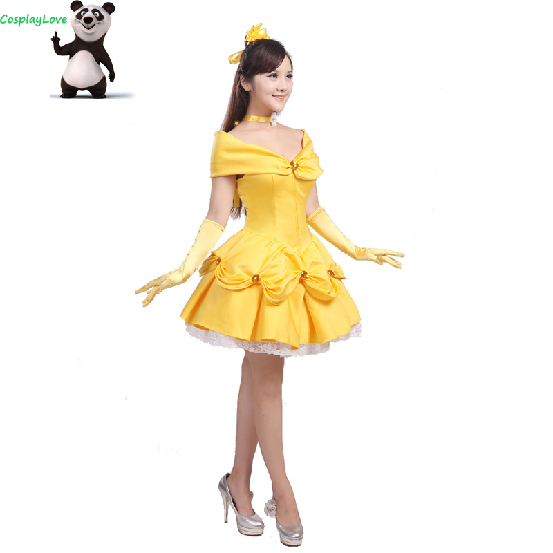 CosplayLove Custom Made Beauty And The Beast Belle ...