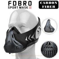 NEW FDBRO Sports Masks Packing Style Black High Altitude Training Conditioning Phantom Sport Smask 2 0