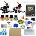 ITATOO Pens Tattoo Kit Cheap Tattoo Machine Set Kit Tattooing Ink Machine Gun Supplies For Jewelry Weapon Professional TK100002