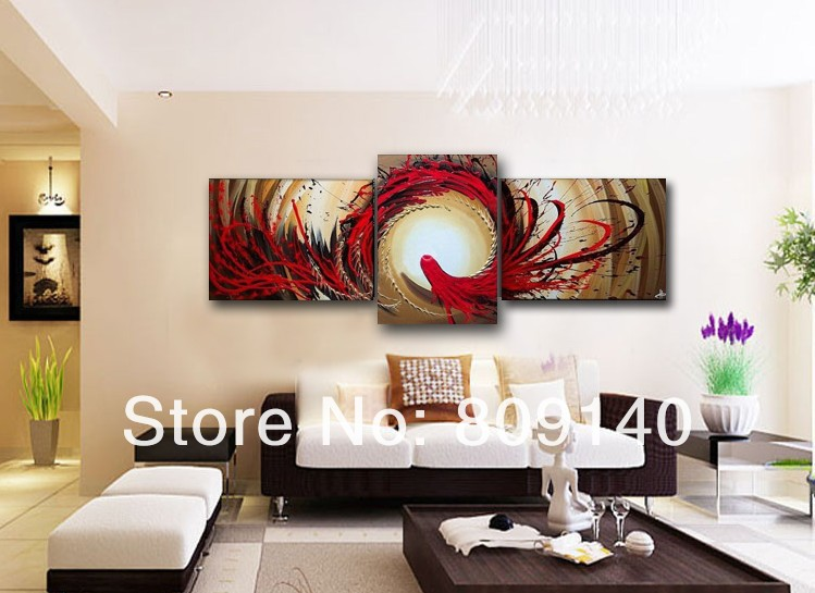 Free Shipping Abstract Phoenix oil painting canvas High Quality ...