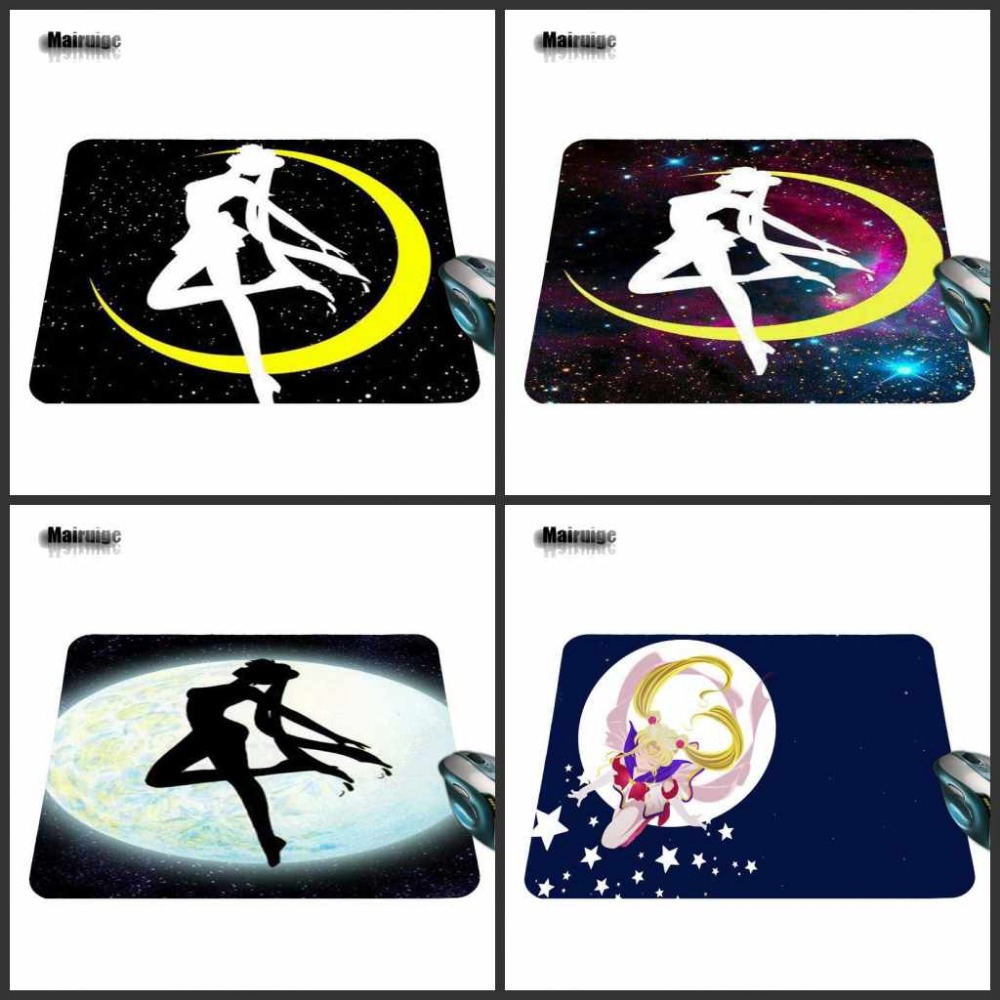 Sailor Moon New Anti-Slip Mouse Pad PC Game Gaming Decorate Your Desk Non-Skid Rubber Mouse Pad 220mmX180mmX2mm&250mmx290mmx2mm
