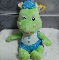 Russian Language Music Songs Plush Light Green Crocodile Electronic Dolls Toys For Boy Children Kids Baby