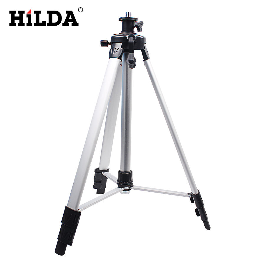HILDA 1.5 m Laser Level Leveler Measuring Tools Construction Optical Instruments Rotary Lasers/Coated Aluminum Tripod Line Lase
