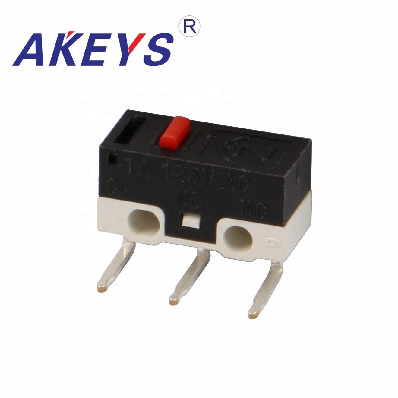 20 Pcs Ms-009 Jl006 Hot Selling Micro Schakelaar Met 3 Gebogen Pin En Wiel Snelle Warmteafvoer