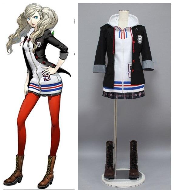 Persona 5 Ann Takamaki oblečení cosplay kostýmy