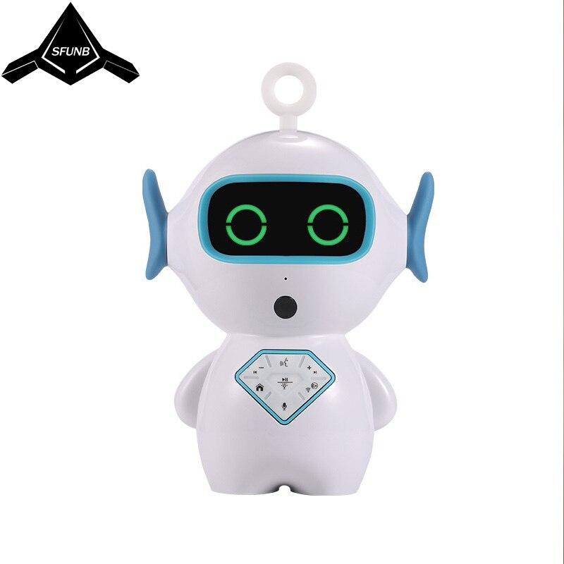Robot enfants Wifi histoire machine dialogue vocal AI compagnon robot chien